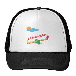 A Balancing Act Trucker Hat