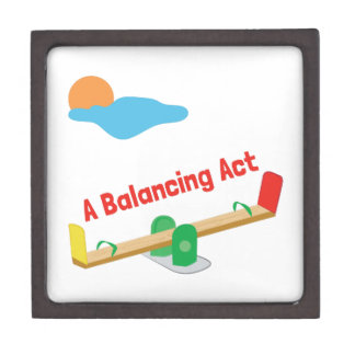 A Balancing Act Premium Jewelry Box