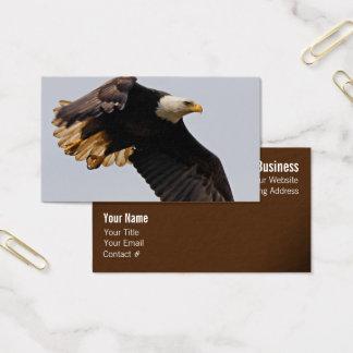 A Bald Eagle Takes to the Sky Business Card