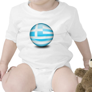 A ball with the flag of Greece Creeper