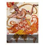 A Ballettfigurine: Firebird de Bakst Léon (el mejo Flyer Personalizado