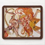 A Ballettfigurine: Firebird de Bakst Léon (el mejo Tapetes De Raton