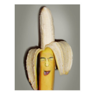 A Banana Splitting Headache Postcard