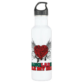 A Bangladeshi Stole my Heart 24oz Water Bottle
