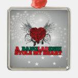 A Bangladeshi Stole my Heart Christmas Ornament