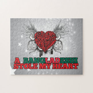 A Bangladeshi Stole my Heart Jigsaw Puzzle