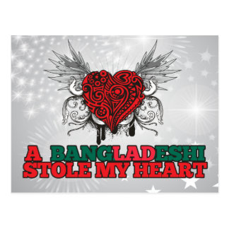 A Bangladeshi Stole my Heart Postcard