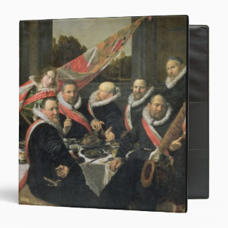 A Banquet of the Officers of the St. George Militi 3 Ring Binder