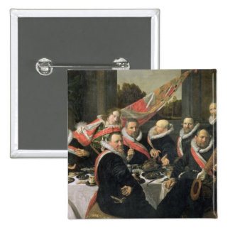 A Banquet of the Officers of the St. George Militi Pinback Button