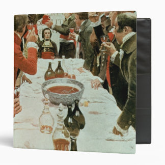 A Banquet to Genet illustration from Washington 3 Ring Binder
