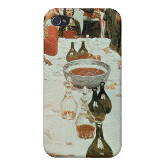 A Banquet to Genet illustration from Washington iPhone 4/4S Cases