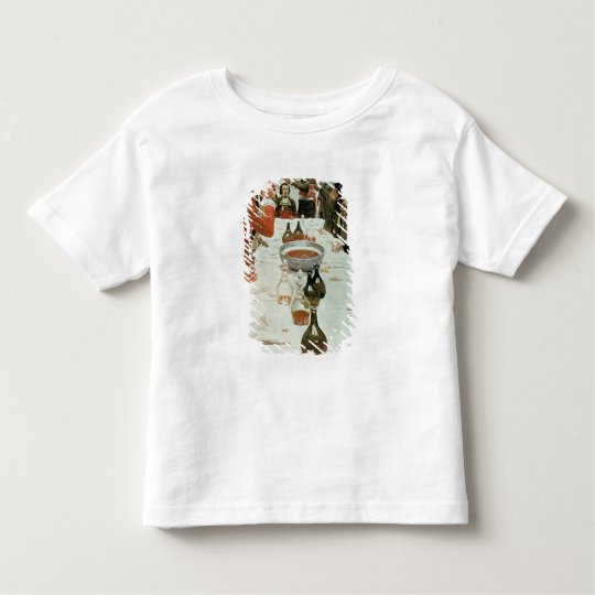 A Banquet to Genet illustration from Washington Toddler T-shirt