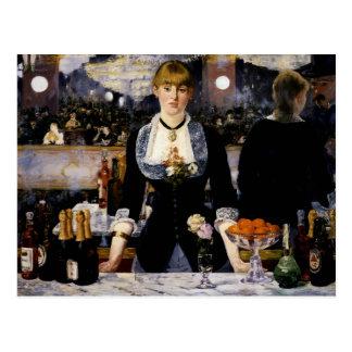 A Bar at the Folies-Bergere, 1881-82 Postcard