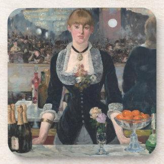 A Bar at the Folies-Bergère Drink Coaster