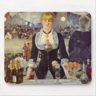 A Bar at the Folies-Bergère - Edouard Manet Mouse Pad