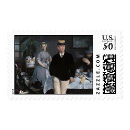 A Bar at the Folies-Bergère - Edouard Manet Postage