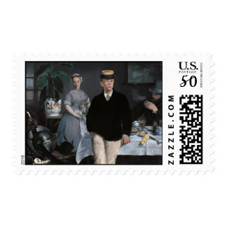 A Bar at the Folies-Bergère - Edouard Manet Postage