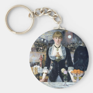A Bar At The Folies Bergere Keychain