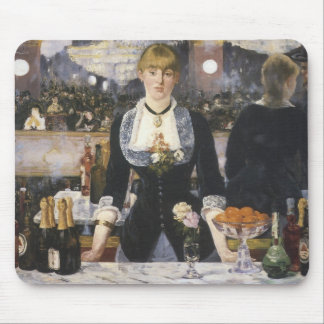 A bar at the Folies-Bergere Mouse Pad