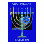 A BAR MITZVAH, INVITATION BY AES
