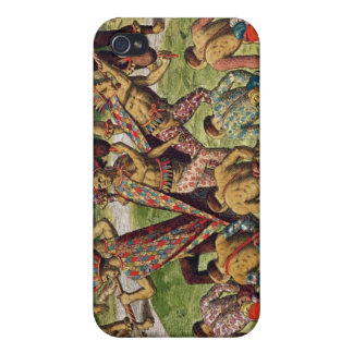 A Barbarian Celebration iPhone 4 Cover