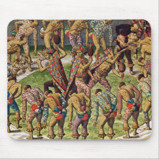 A Barbarian Celebration Mouse Pad