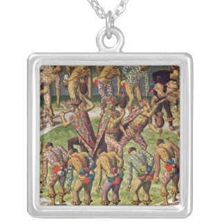 A Barbarian Celebration Silver Plated Necklace