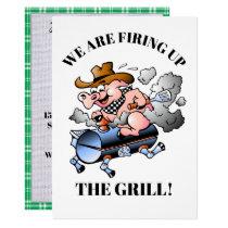 A Barbecue Celebration Invitation
