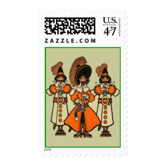 A Bard's Postage Stamp We Three Performing Bards