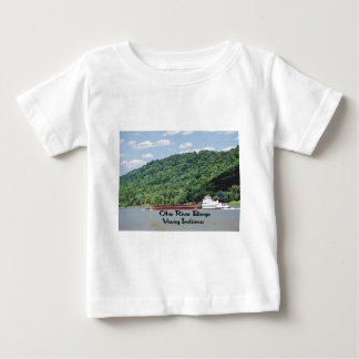 A barge steams up the Ohio River Shirt