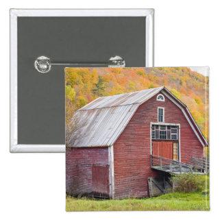 A barn in Vermont's Green Mountains. Hancock, 2 Button