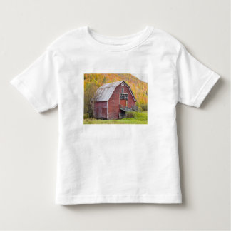 A barn in Vermont's Green Mountains. Hancock, 2 Toddler T-shirt