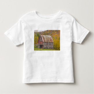 A barn in Vermont's Green Mountains. Hancock, Toddler T-shirt