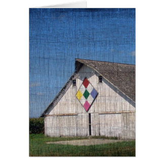 A Barn With A Quilt Card