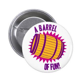A Barrel Of Fun! Button