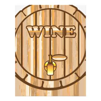 A barrel of Wine Letterhead