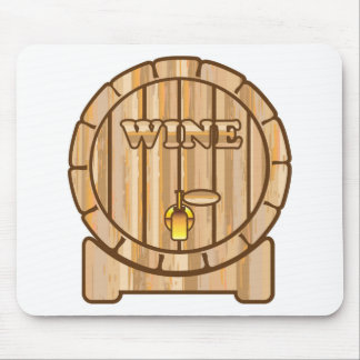 A barrel of Wine Mouse Pad
