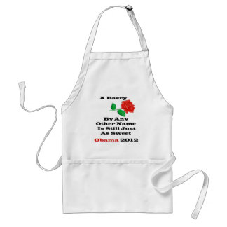 A Barry By Any Name Adult Apron