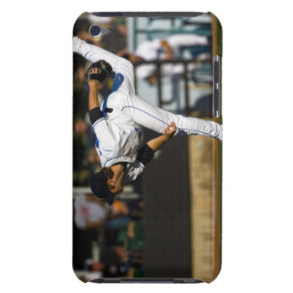 A baseball playing throwing the ball barely there iPod cover