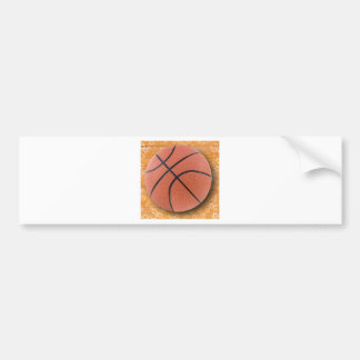 A Basketball Bumper Sticker