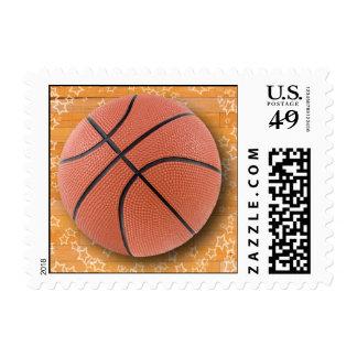 A Basketball Stamp