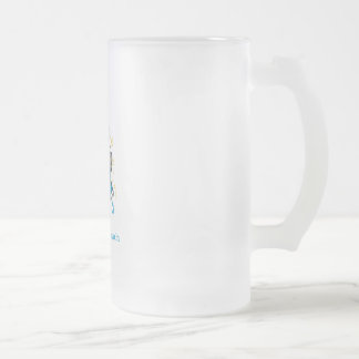 A Bat Mitzvah Frosted Glass Beer Mug