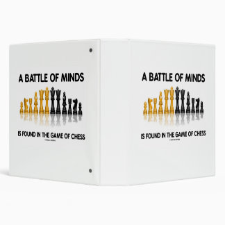 A Battle Of Minds Is Found In The Game Of Chess Binder