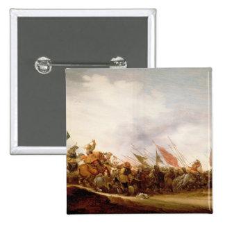 A Battle Scene, 1653 Button