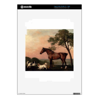 A Bay Hunter With Two Spaniels by George Stubbs Skins For iPad 2