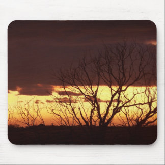 A Bayou Sunset by Leslie Peppers Mouse Pad