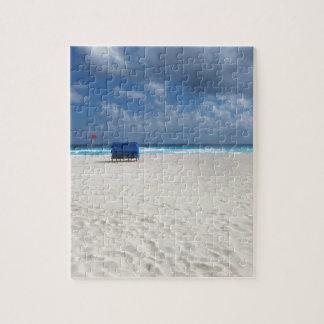A Beach Chair Awaits Jigsaw Puzzle