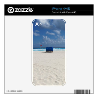 A Beach Chair Awaits Decals For The iPhone 4S