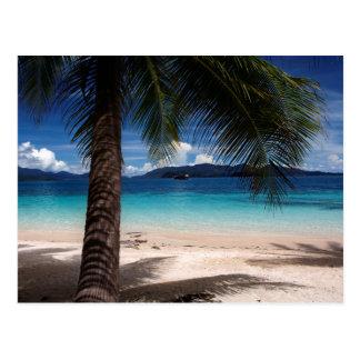 A Beach On Koh Wai Island In Thailand Postcard