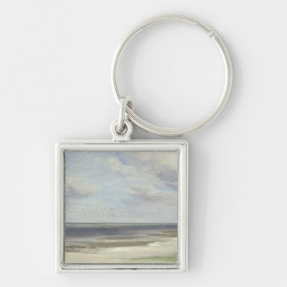 A Beach on the Baltic Sea at Laboe, 1842 Keychain